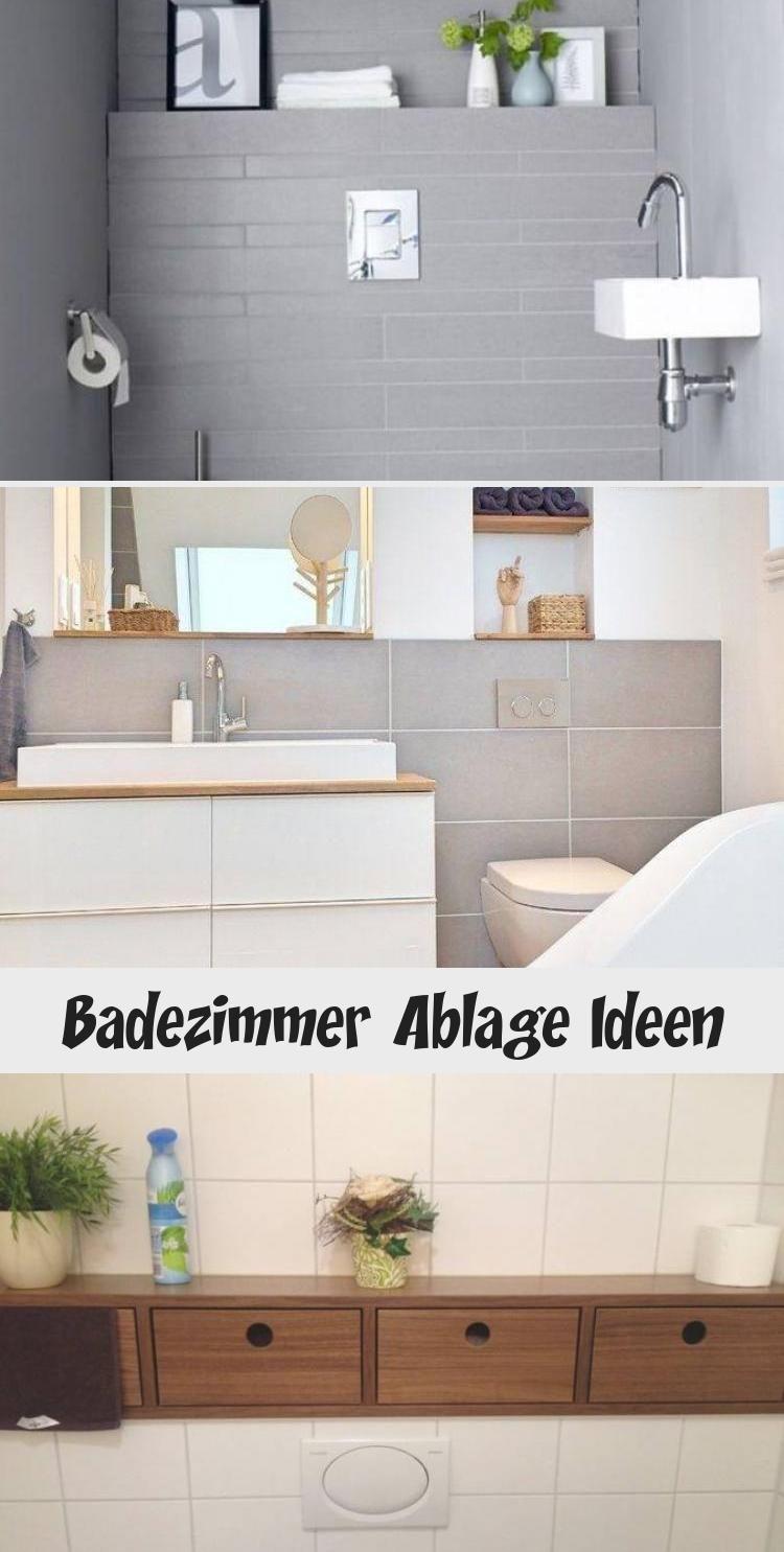 Badezimmer Ablage Ideen In 2020 Bathroom Vanity Bathtub Vanity