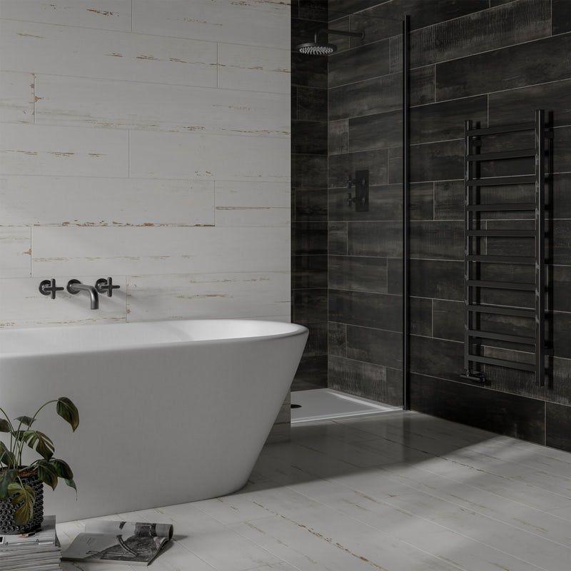 Mode Carlton White Wood Effect Matt Wall And Floor Tile 200mm X 1200mm Wall Floor Tiles Wood Effect Tiles Tile Floor