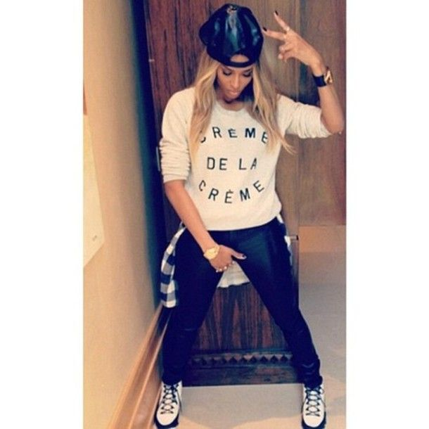 Ciara, Rockin A Hip Hop Style In Black And White