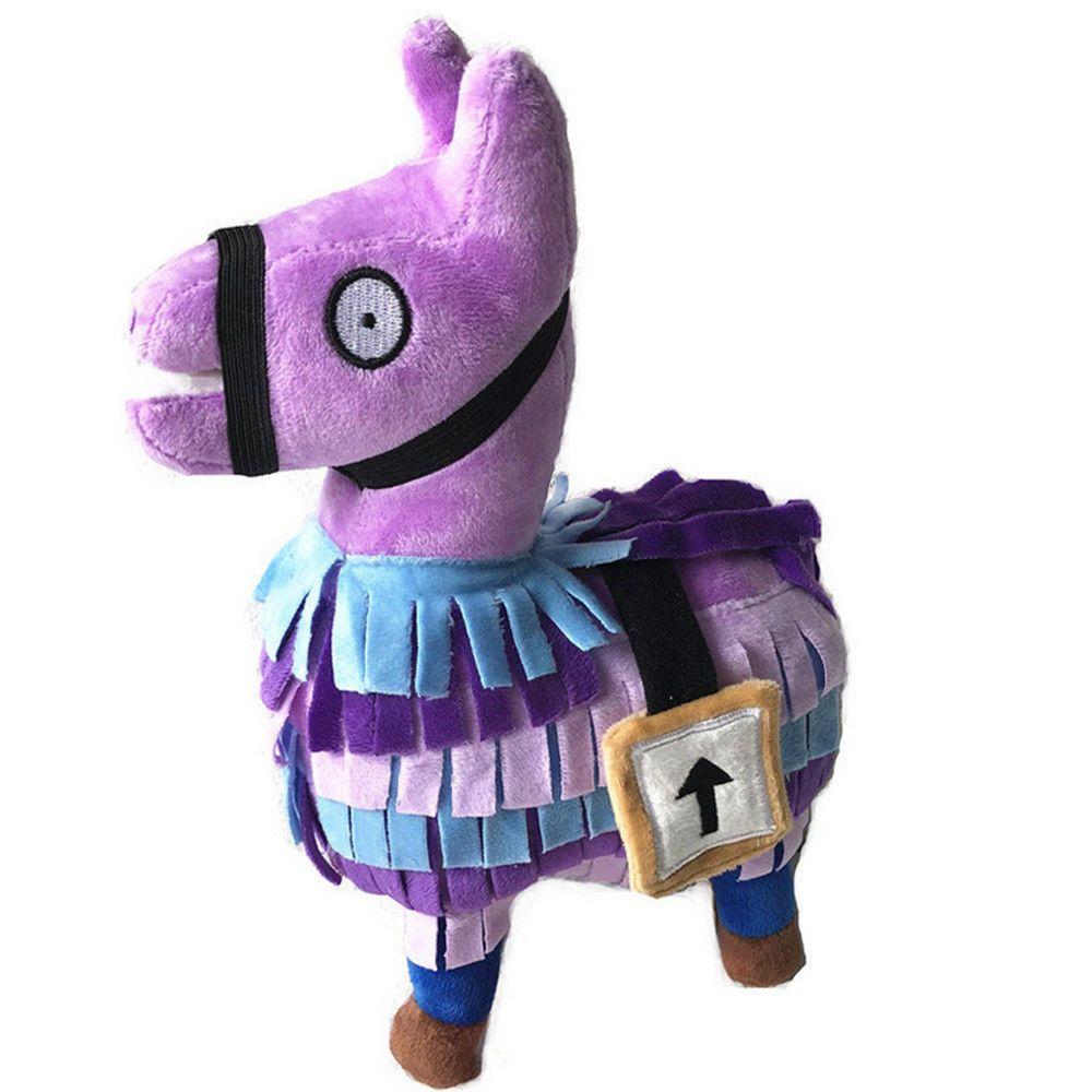 Fornight Stash Llama Plush Toy Rainbow Horse Stuffed
