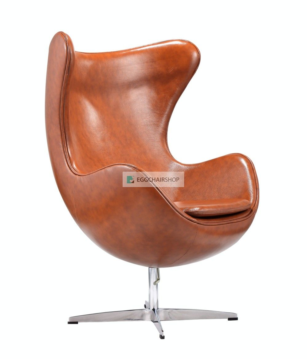 Egg Chair Cognac Leder