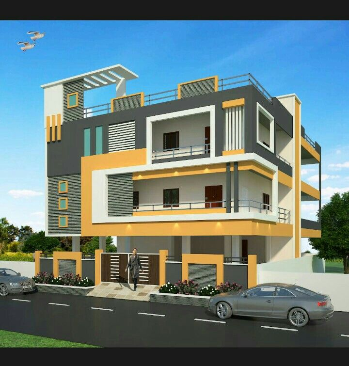 House pla building elevation front design modern also icymi of small indian houses in rh pinterest
