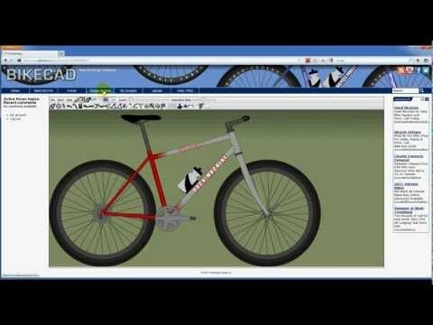 Bikecad A Bicycle Design Software That Allows You To Design Your Own Bike Bicycle Design Software Design Tool Design