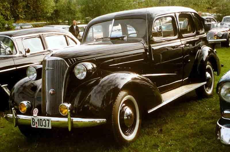 1937 Chevrolet 4-Door Sedan | Cars of the 1930s  | General