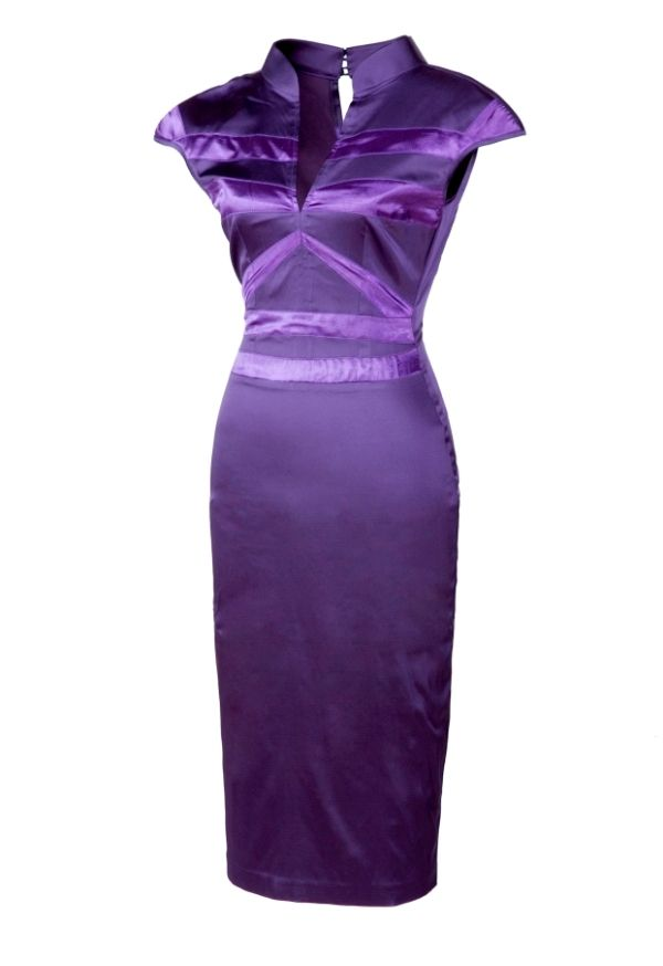 Dress Xana purple, Romyda Keth for Jaya Concept. ...Will also look good worn with #VFF Almond Jaya LR!