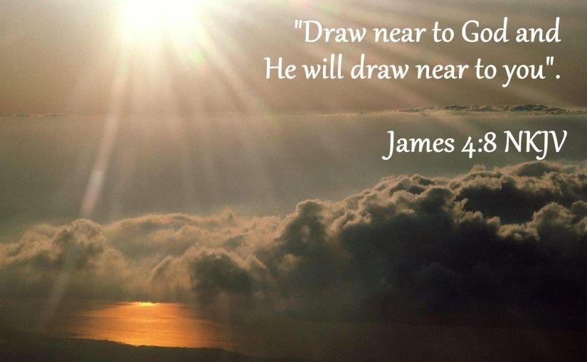 Image result for draw near to god kjv