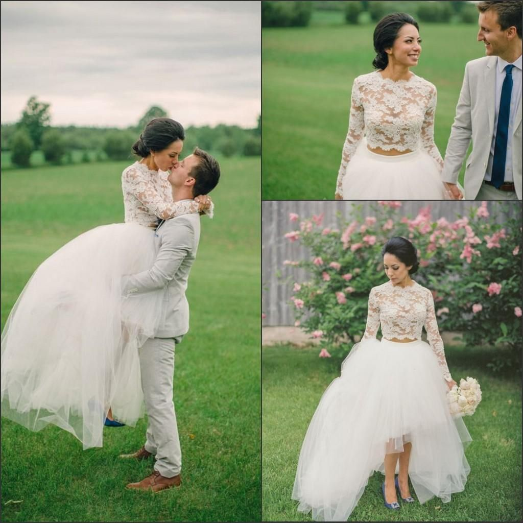 Country girl wedding dress  High Low Tutu Skirt Womens Ladies Long Tulle Country Wedding Party
