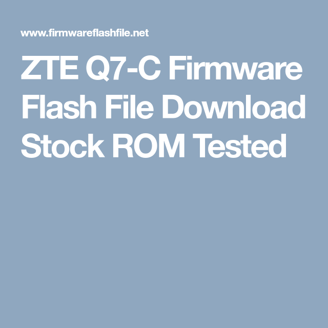 Hero i7 Firmware Flash File Download Stock ROM Tested | Firmware