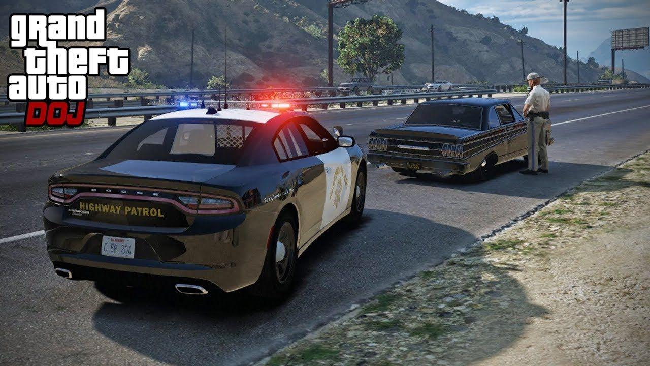 GTA 5 Roleplay - DOJ 220 - Police Ride Along (Civilian) | LSPDFR/GTA