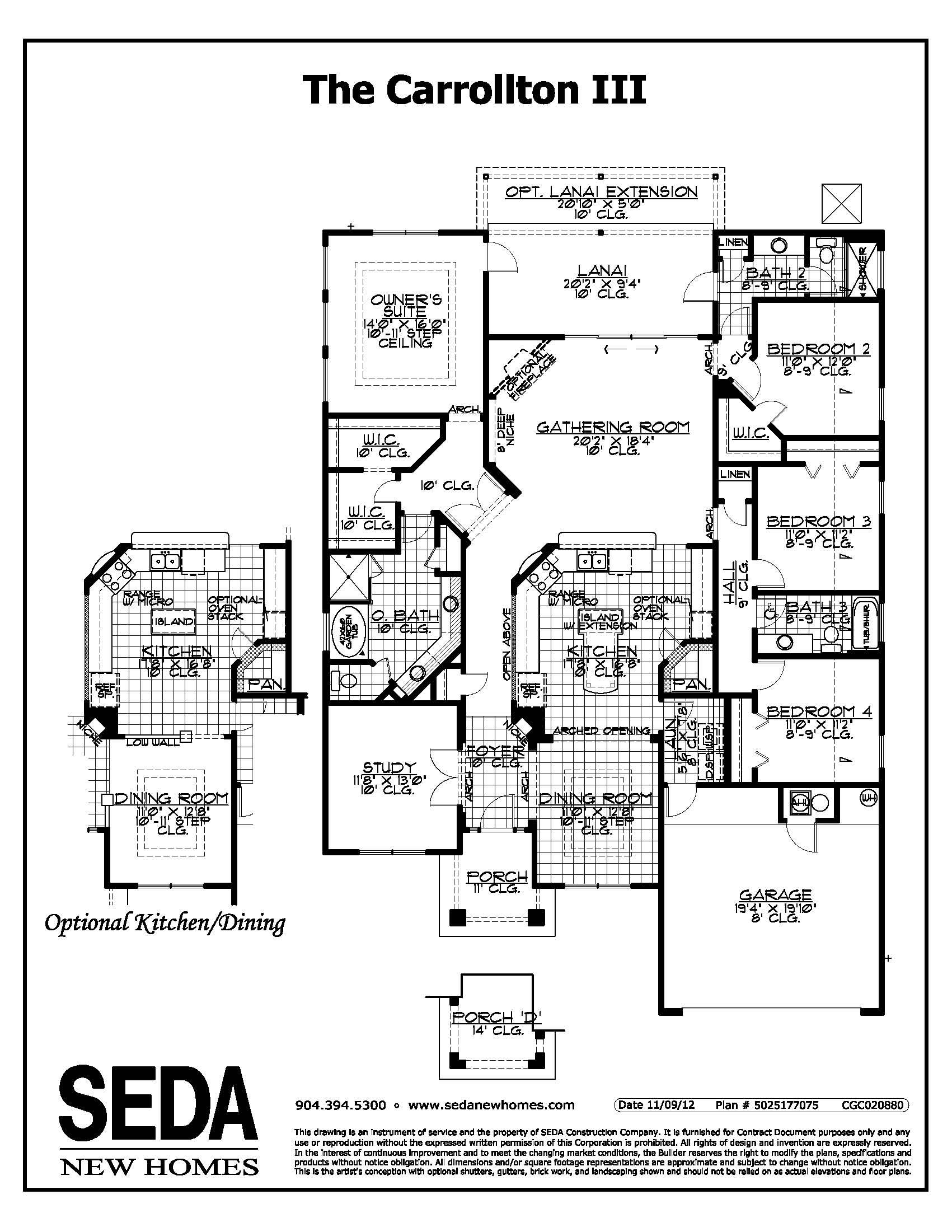 Carrollton Seda Homes Gathering Room Carrollton How To Plan