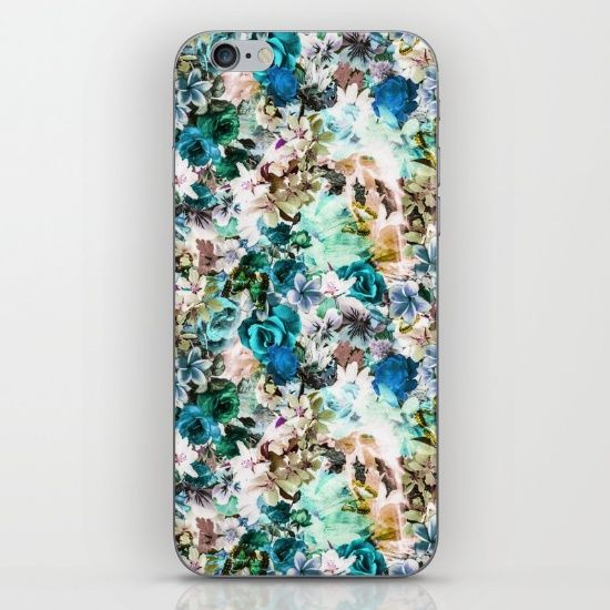 #floral #flowers #blossom #digital #print #art #fashion #colors #society6 #seamless #patern