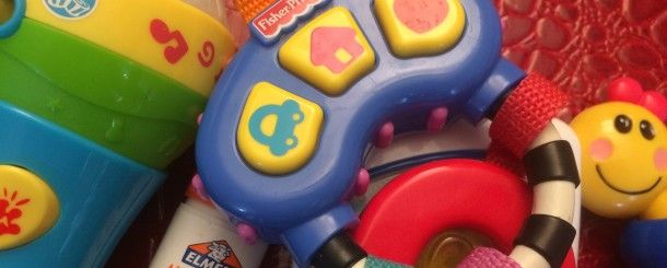 Today's Hint: How to Muffle Annoying Sounding Toys