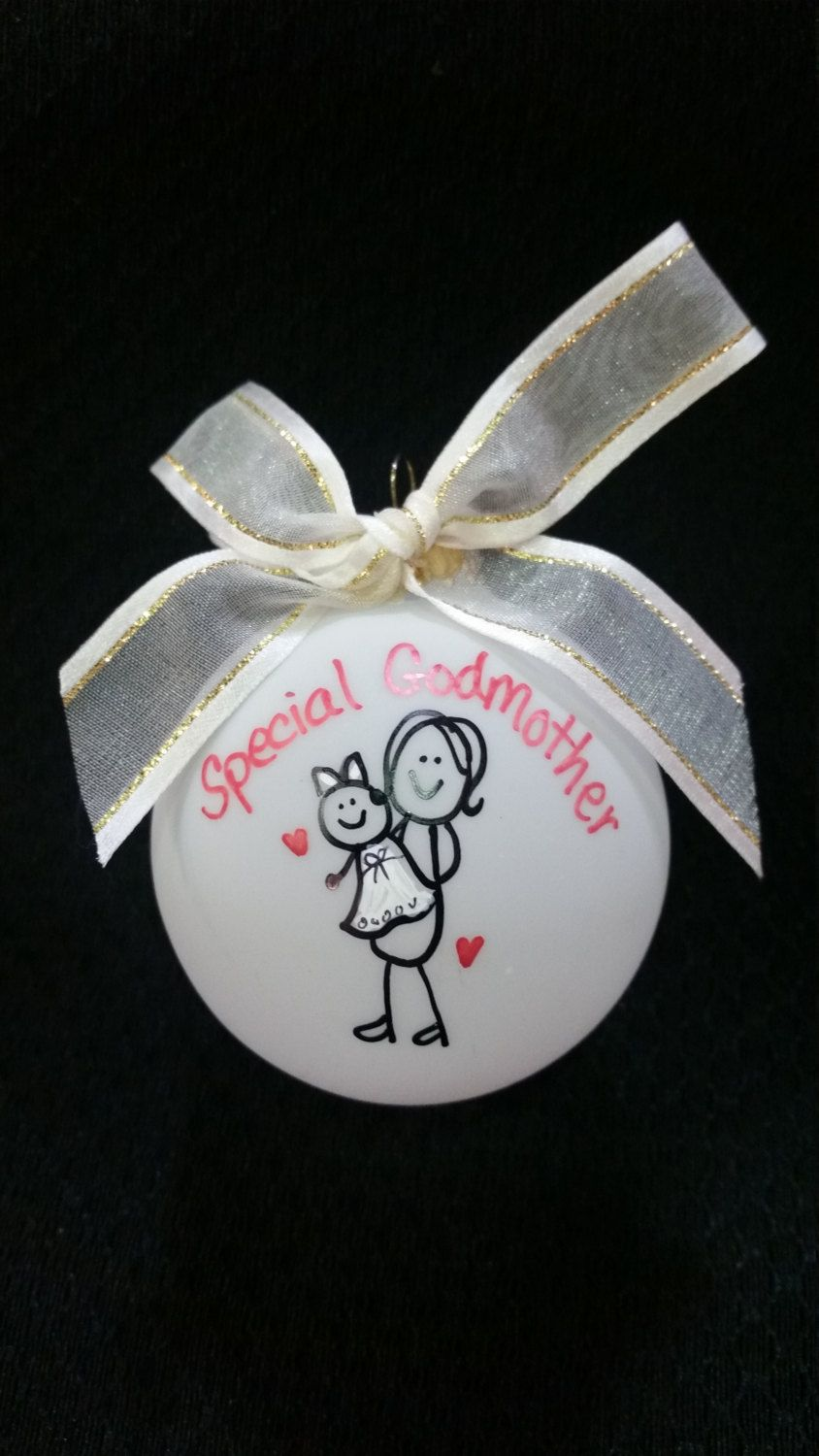 God Mother gift ornament - Our family ornament - Special ...