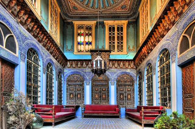 Interior Of An Old Palace In Aleppo With Images Aleppo