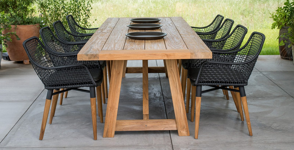 Outdoor Patio Dining Sets Tables Benches Chairs Terra Outdoor Modern Outdoor Dining Modern Outdoor Dining Sets Outdoor Patio Table Outdoor wooden table and chairs