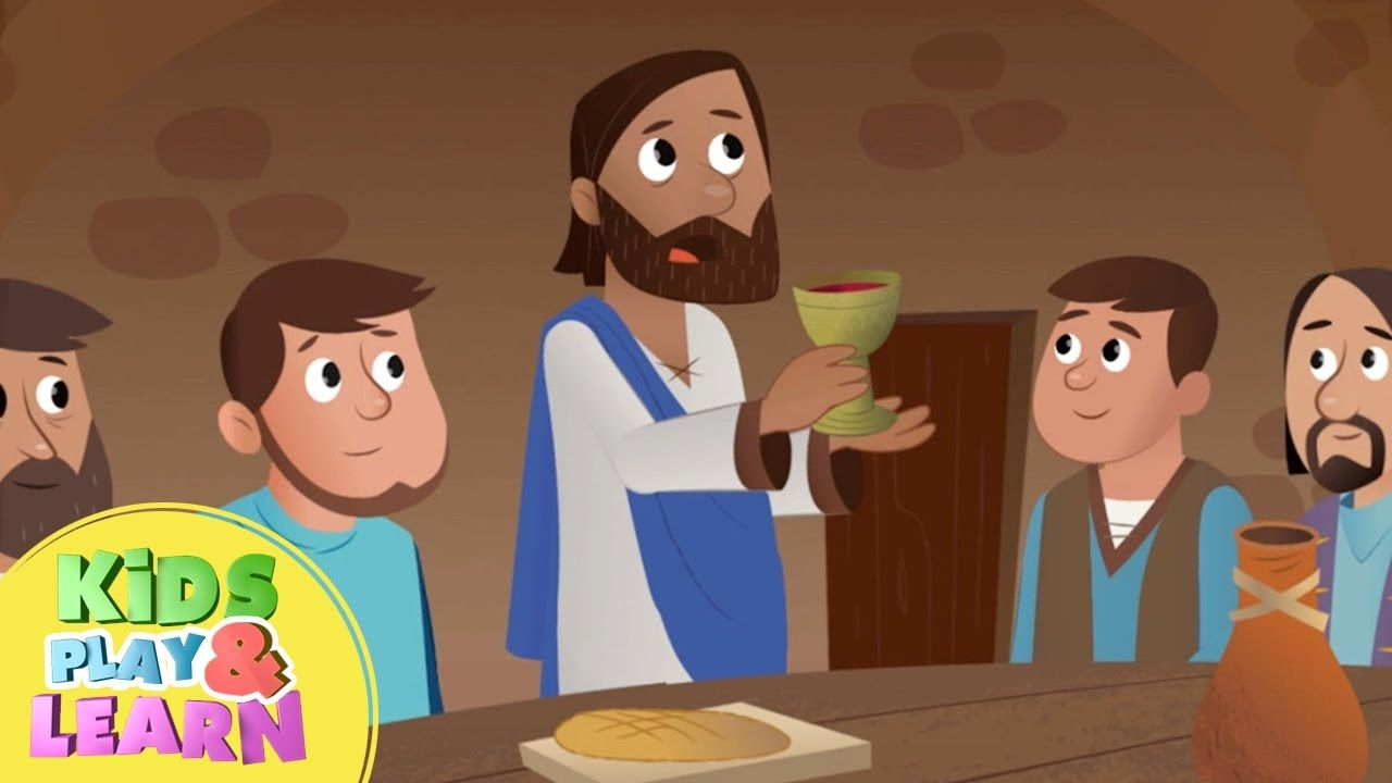 The Last Supper Bible For Kids Bible for kids, Last supper
