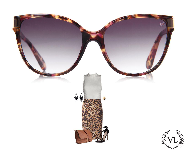 589c36961 Óculos da Via Lorran com look de oncinha. | Meu óculos, meu estilo ...