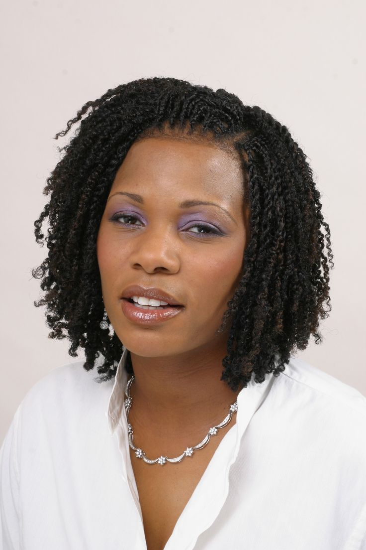 Distinctive Kinky Twist Hairstyles : Natural Hairstyles For Short ...