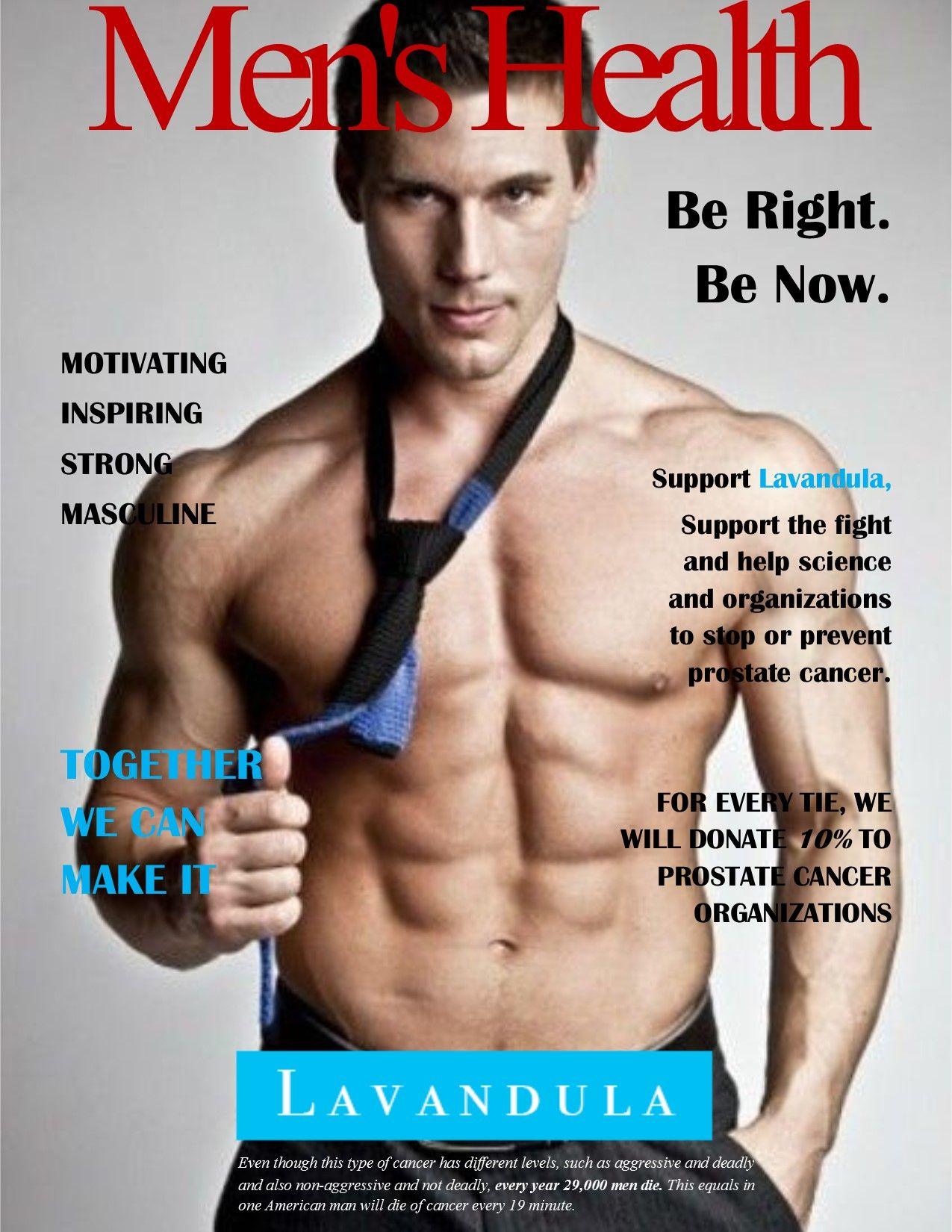 Lavandula on Men's Health magazine cover. | Lavandula ...