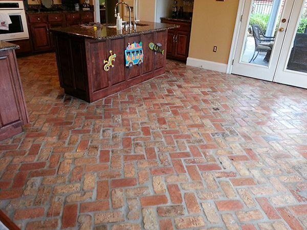 Brick Tile Floors Google Search Floors In 2018 Pinterest