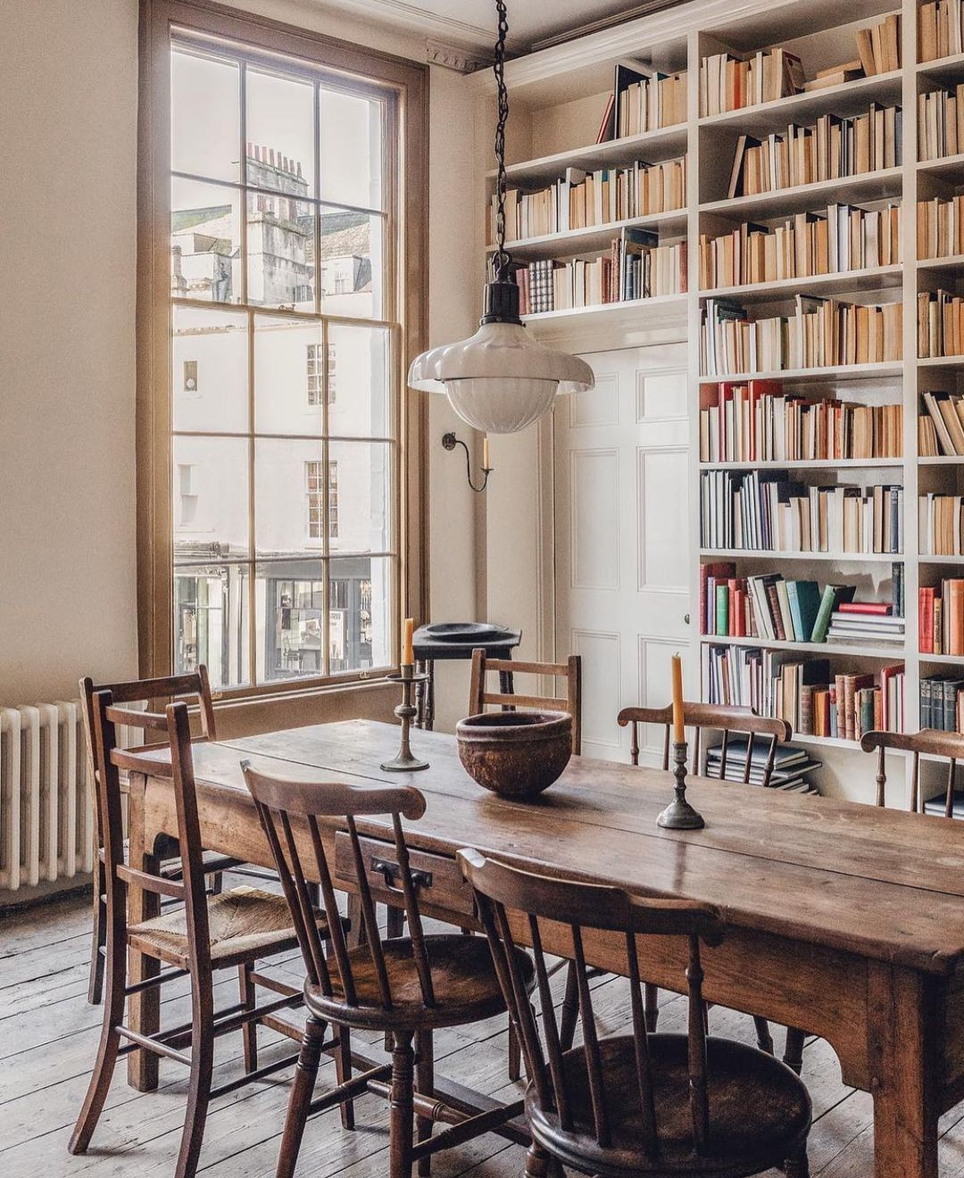 Pin On Dining Rooms Dining room librariesbeautiful and