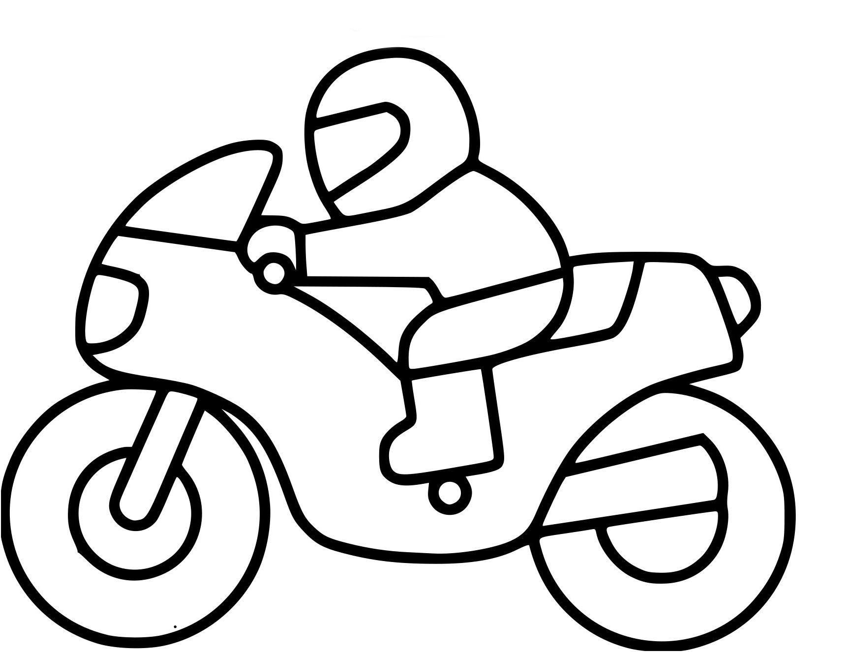 10 Acceptable Coloriage A Imprimer Moto Cross Stock En 2020