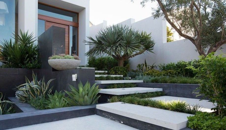 Modern And Contemporary Front Yard Landscaping Modern Front Yard Modern Landscaping Front Yard Design