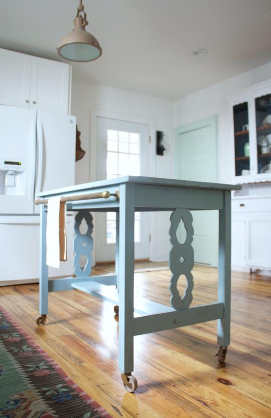 DIY Brass Kitchen Details | Apartment Therapy