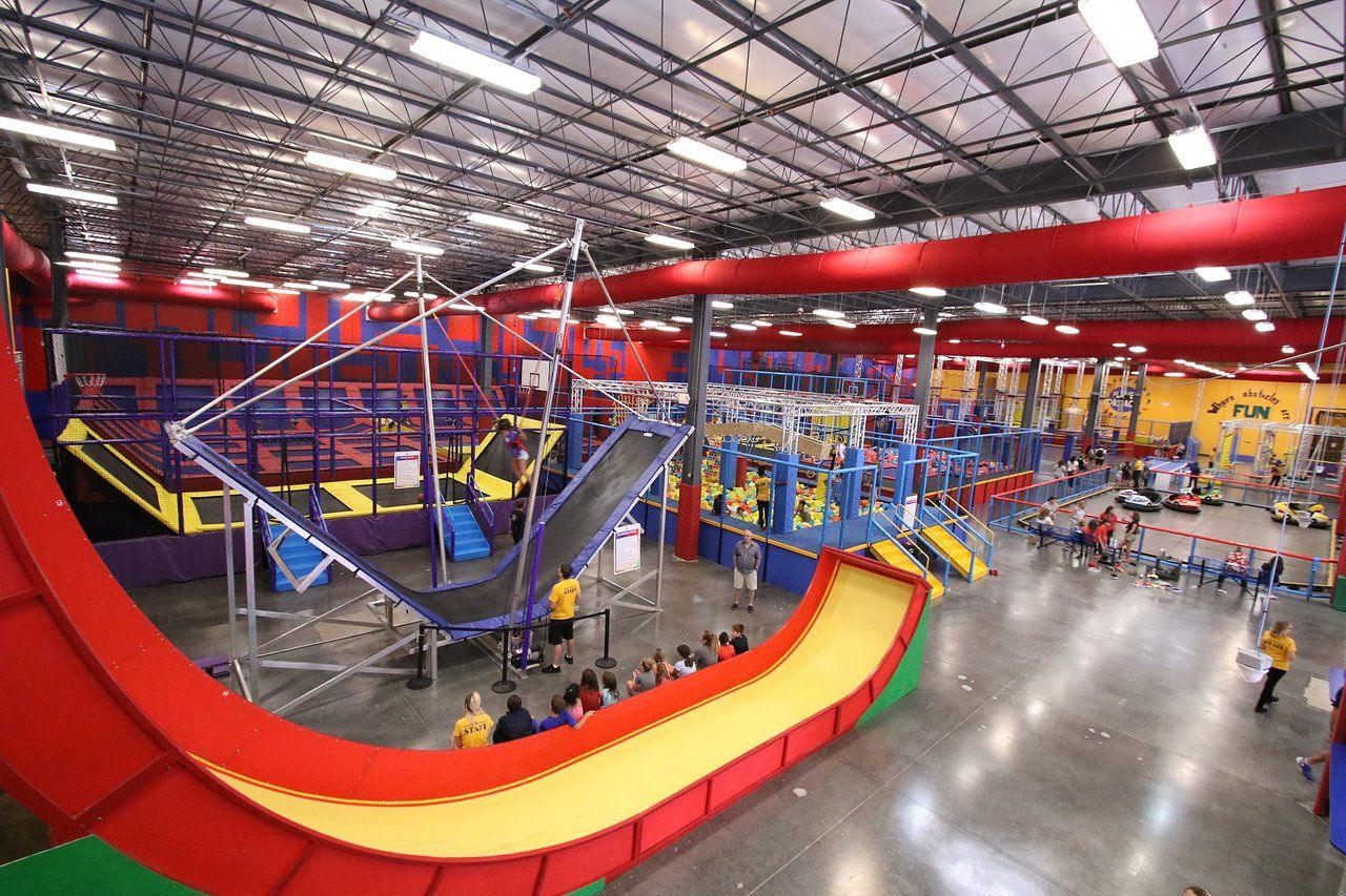 The World S Largest Indoor Obstacle Park Is Right Here In Florida At Planet Obstacle Florida Indoor Playground Planets