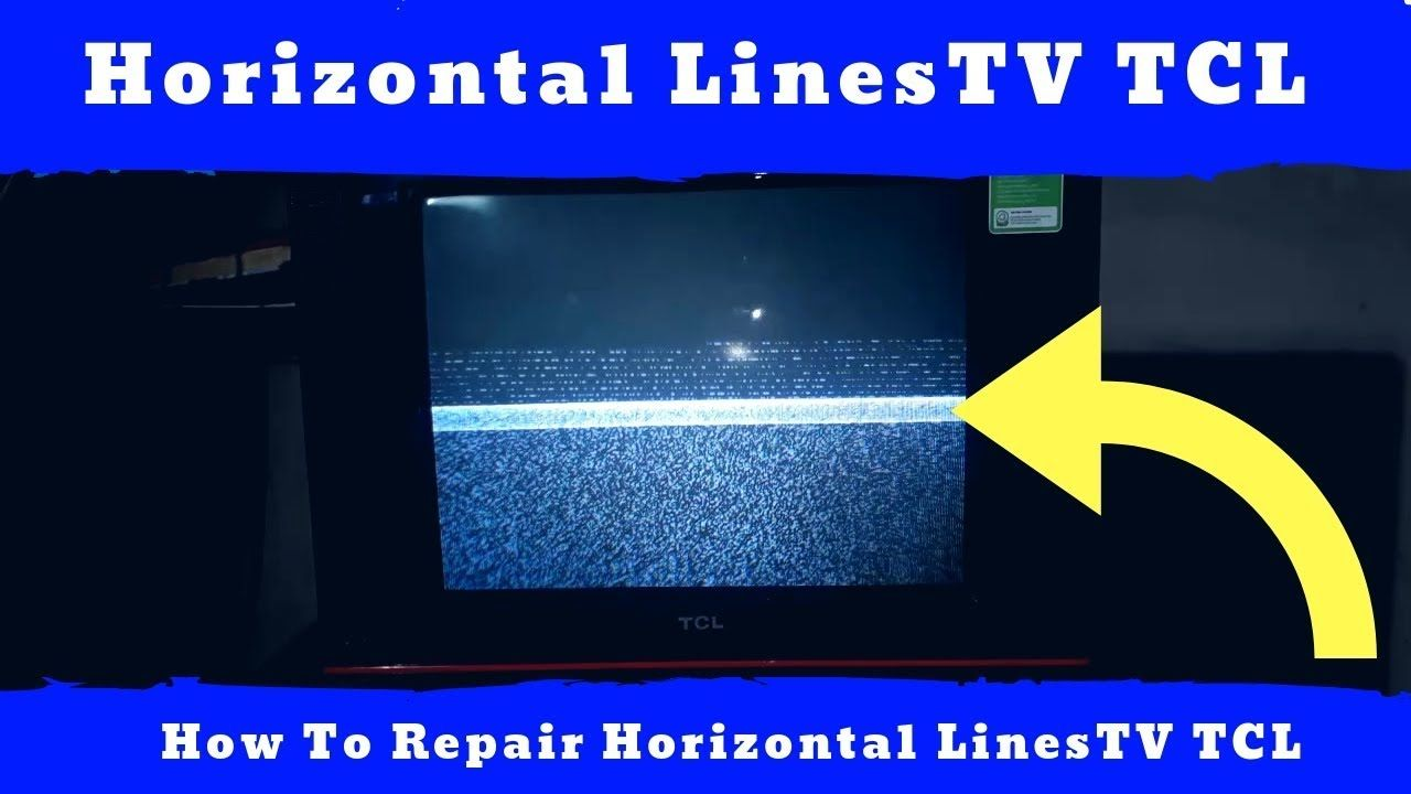 Horizontal Lines On Tv Picture