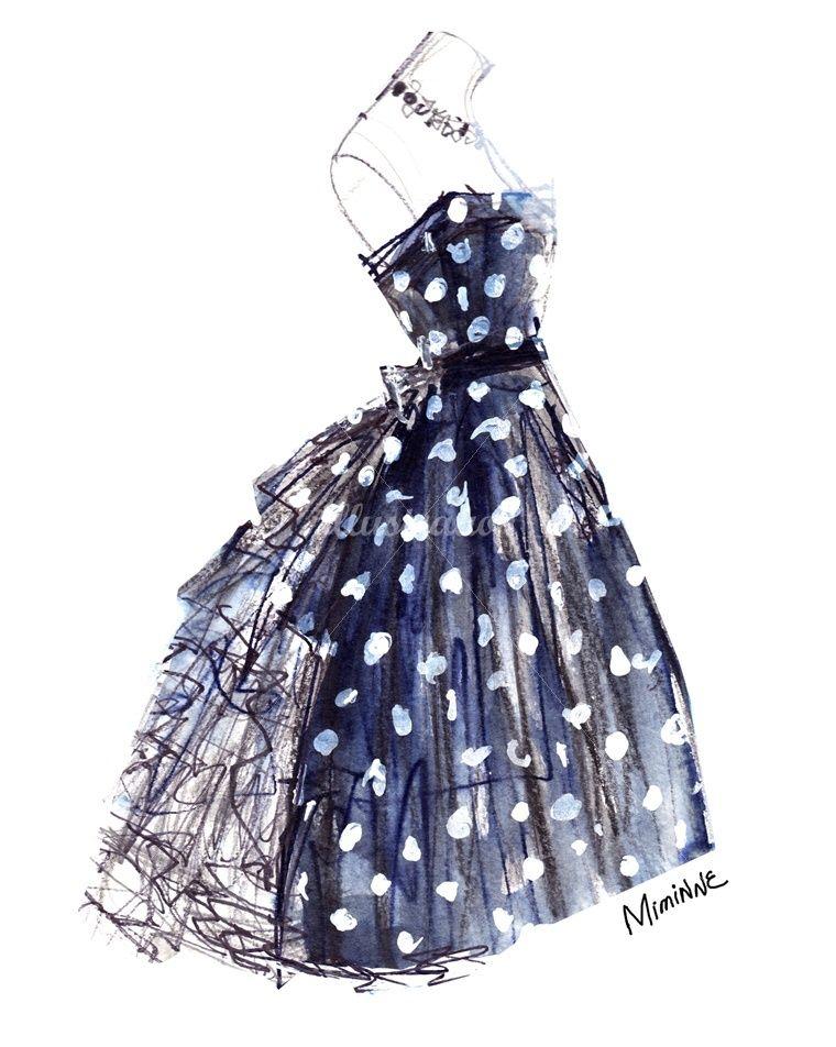 Miminne Fashion Beauty Illustrator A R T