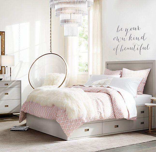 Best Mina Acrylic Ball Hanging Chair Girl Bedroom Designs 400 x 300