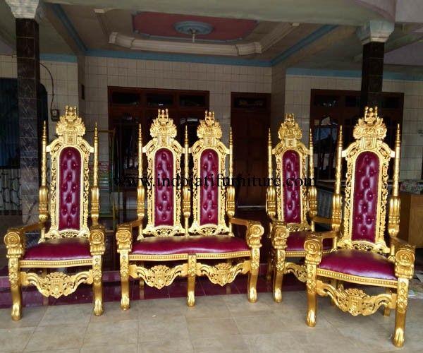 Set Kursi Raja Dekorasi Pernikahan,harga kursi raja,kursi raja majapahit,kursi raja murah,harga kursi raja jati,kursi raja pelaminan,kursi raja king chair,model kursi raja,kursi minimalis