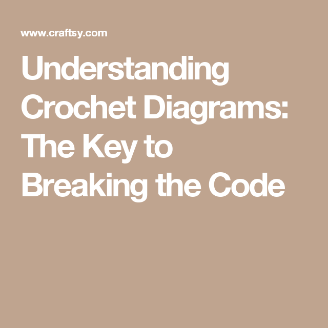 Understanding Crochet Diagrams: The Key to Breaking the Code