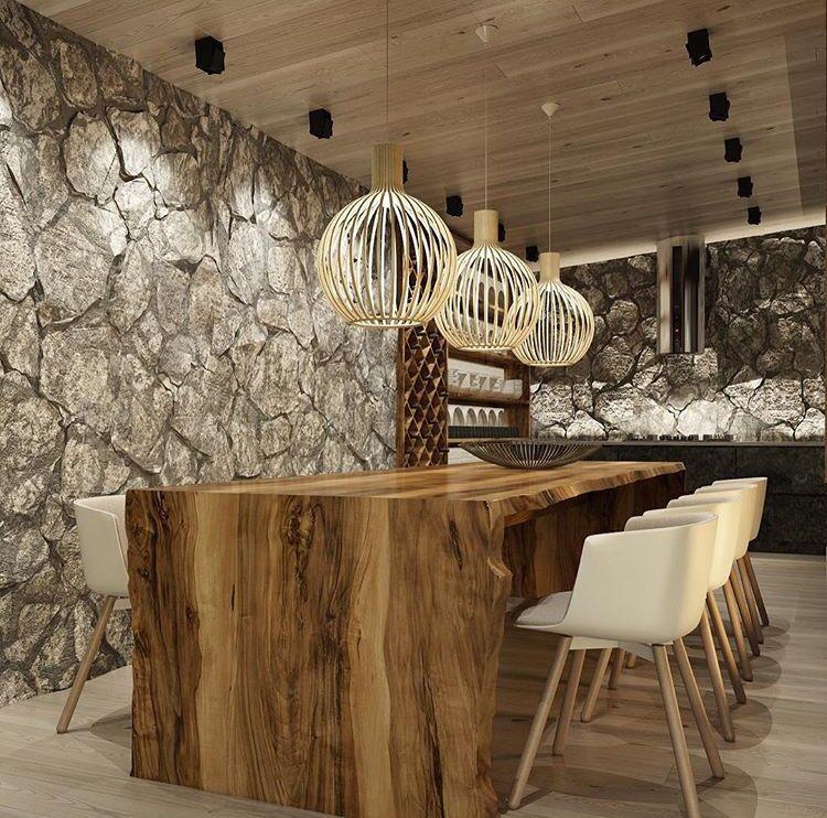 #Wood & Stone