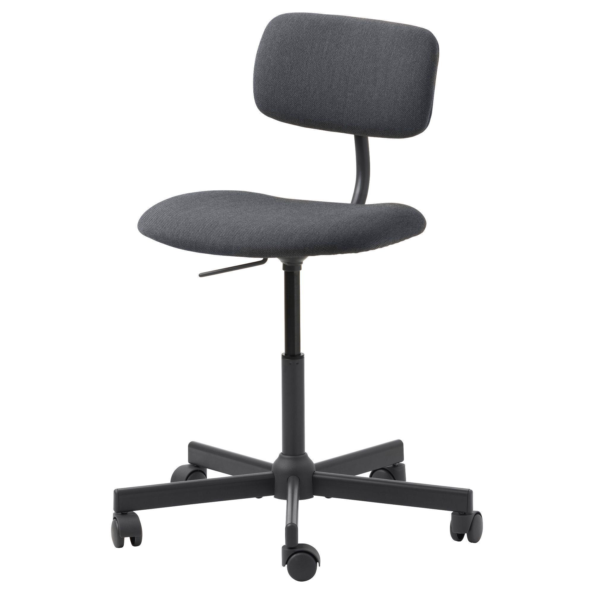 Bleckberget swivel chair idekulla beige small chair