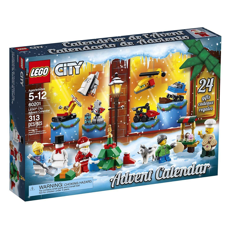 Lego City 24 Day Advent Calendar 60201 Lego Advent Calendar