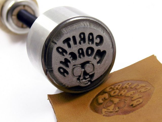 Sello Manual Para Cuero Nespresso Cups Embossed Logo Nespresso