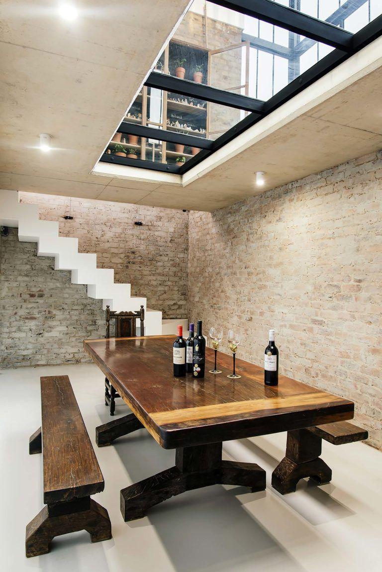 Style Industriel Pour Une Maison D Architecte Maison Darchitecte Plancher En Verre Maison Style