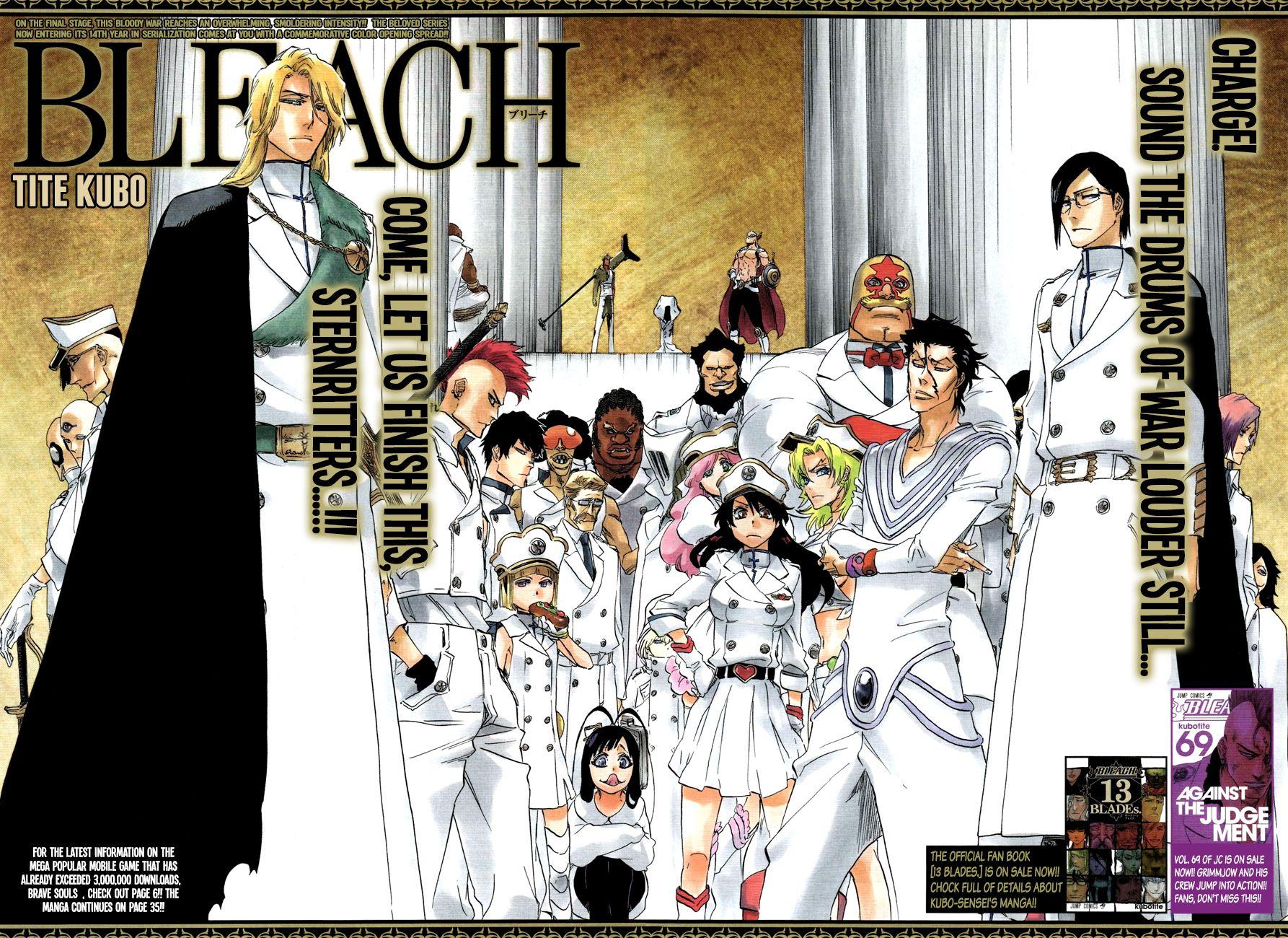 Bleach 640 - Page 4 - Manga Stream