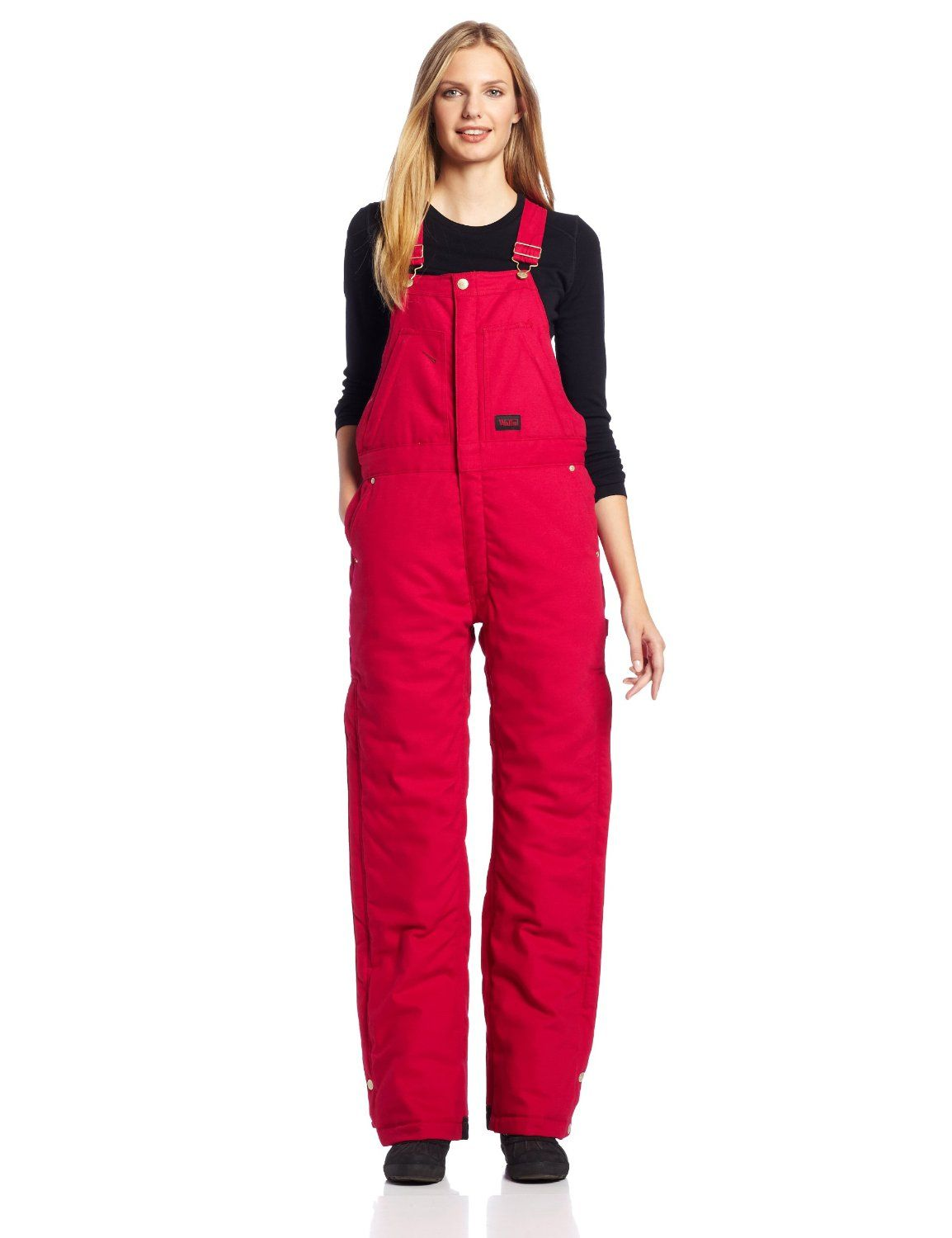 walls women s ladies insulated bib overall with dry iq on walls workwear insulated coveralls id=92597