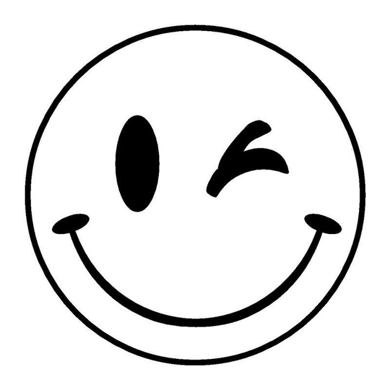 Emoji Coloring Pages Big Wink Emoji Coloring Pages Emoji Tattoo Coloring Pages