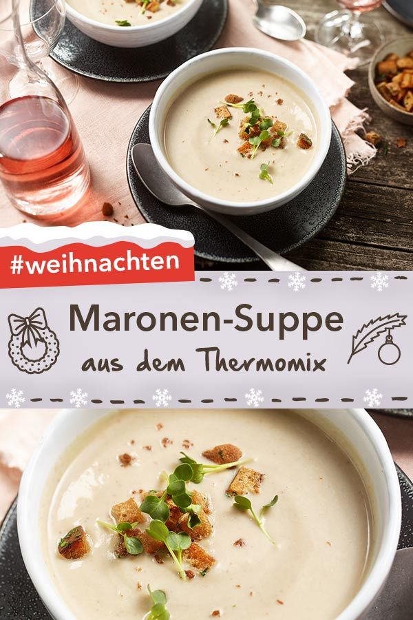 Photo of Chestnut soup from the Thermomix
