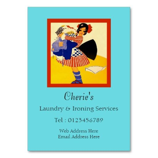 Laundry ironing services business card laundry business cards laundry ironing services business card pronofoot35fo Image collections