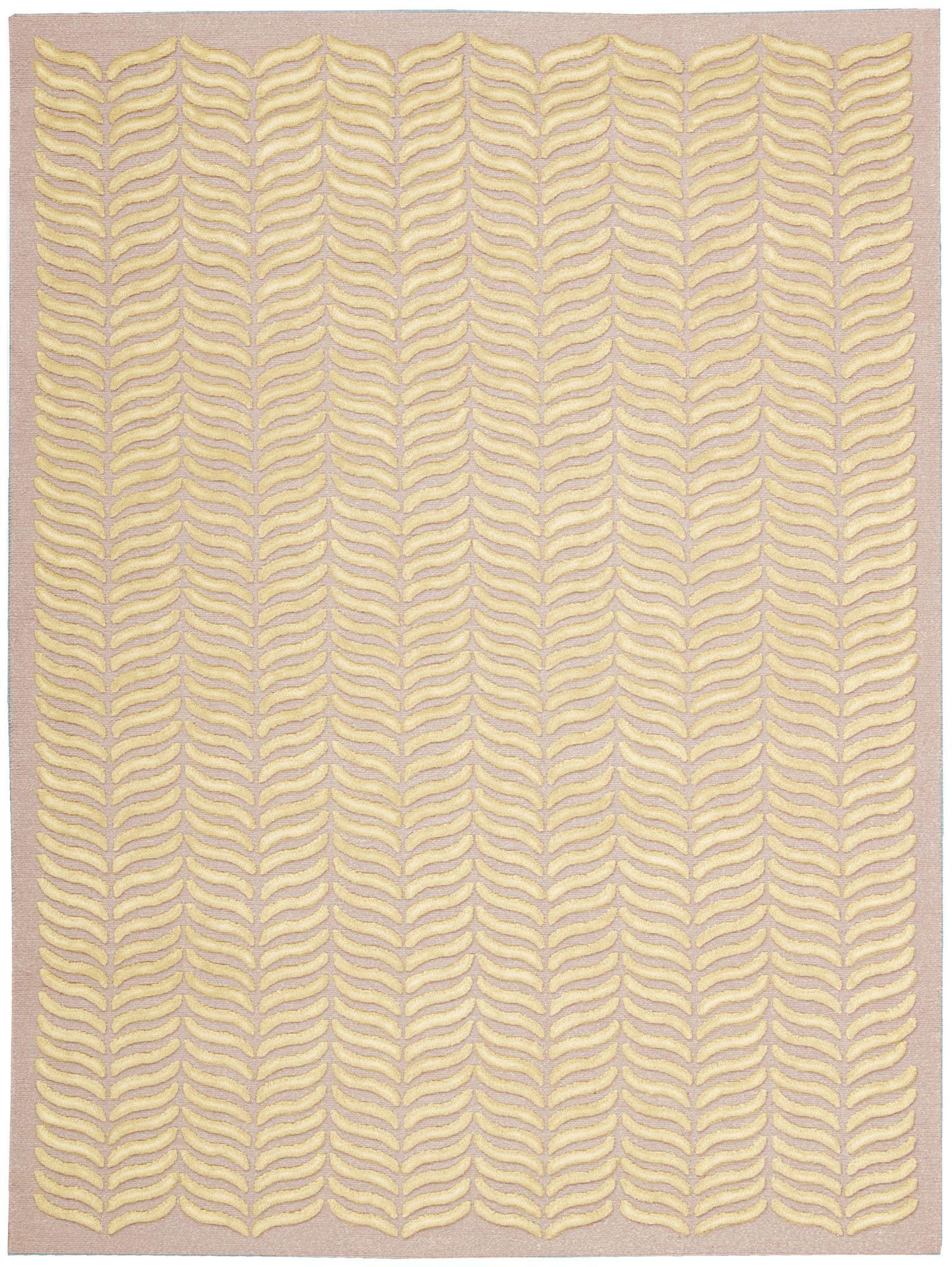 Silken Textures Blush Area Rug