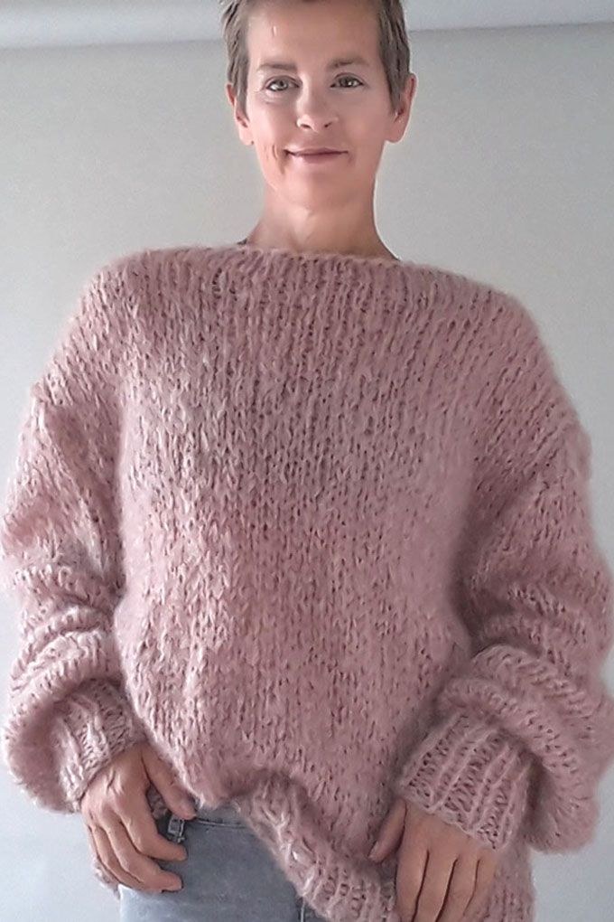Pin On Strickpullover Aus Mohair