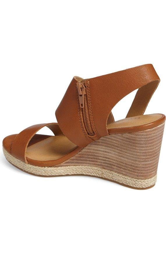Femmes Lucky Brand LK-Lowden Sandales Compensées CbUQCe