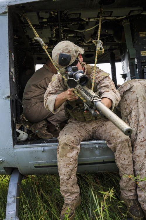 Sniper 1st Battalion 6th Marine Regiment 22nd Marine