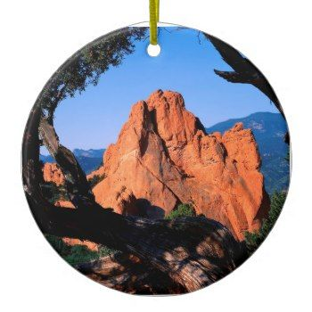 Rocks Garden Gods Colorado Christmas Ornaments