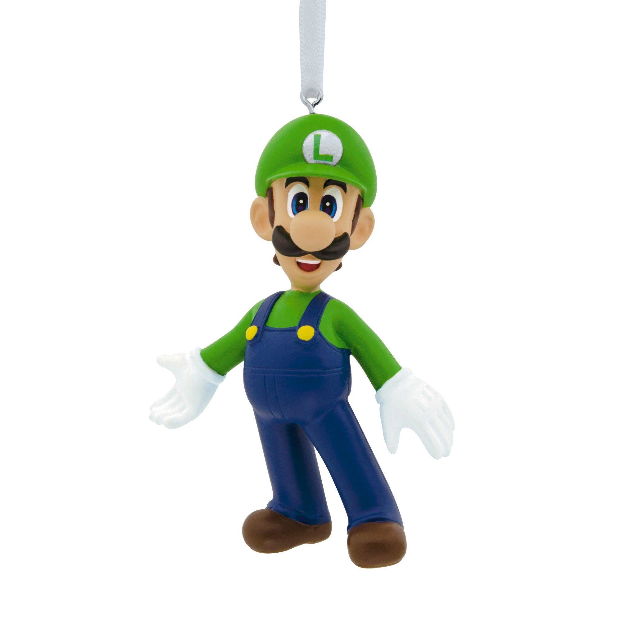 Nintendo Luigi/Mario Christmas Ornament, | Luigi and Products